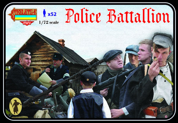 Strelets M086 - Police battallion (German auxiliary police) - 1:72