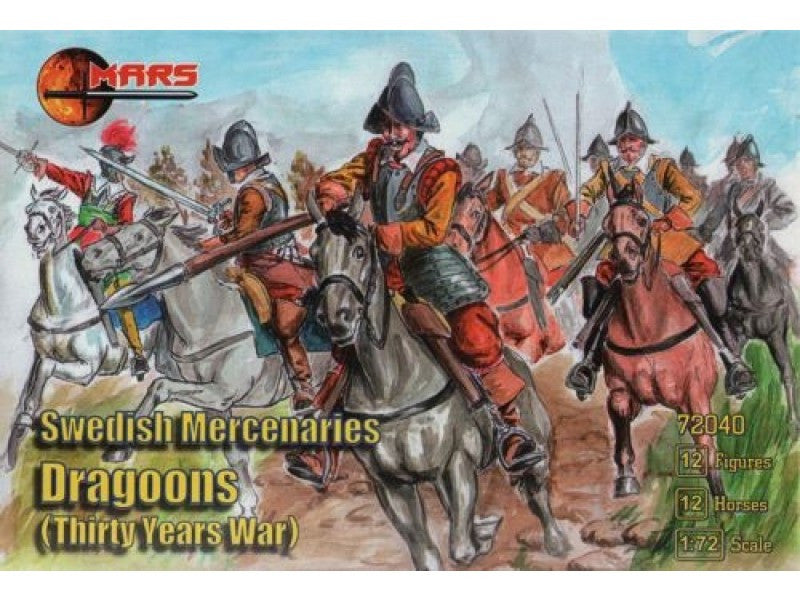 Mars - Swedish Mercenaries Dragoons - 1:72