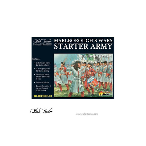 Black Powder - 302015001 - Marlborough's Wars Starter Army - 28mm