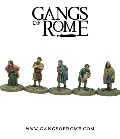 Gangs of Rome - WBGORM03 - Mob Tertius - 28mm