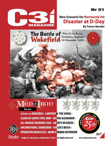 Boardgame - The Battle of Wakefield: Yorkshire, England 30 December 1460 (2017)