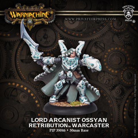 Warmachine - Lord Arcanist Ossyan warcaster - 28mm