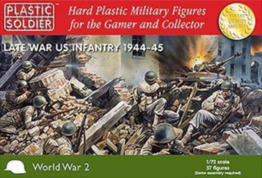 Plastic Soldier - Late war US Infantry 1944-45 - 1:72
