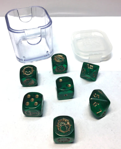 Blood Bowl - Skaven Dice Set - Games Workshop