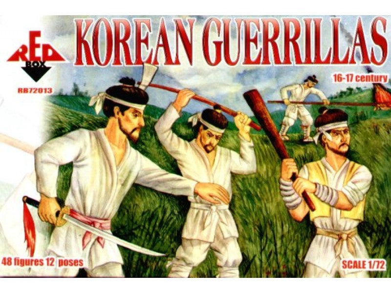 Red Box RB72013 - Korean guerrillas - 1:72