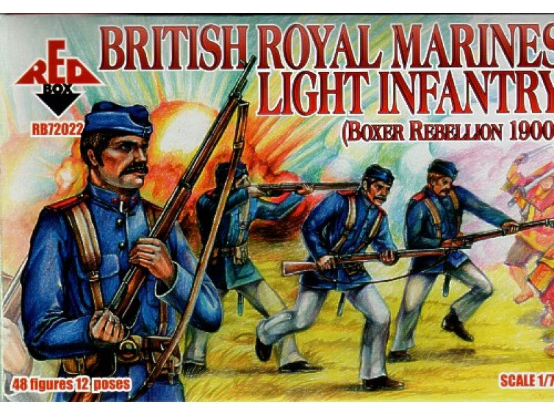 Red Box - British Royal marines light infantry - 1:72