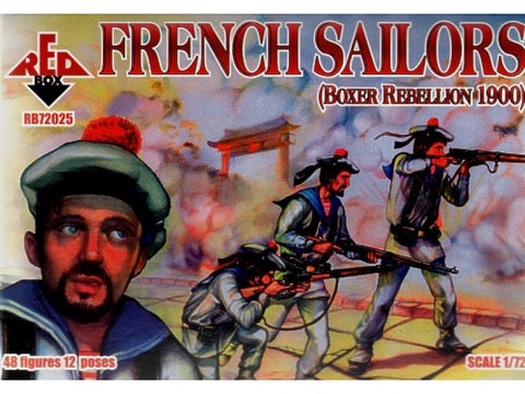 Red Box - 72025 - French sailors - 1:72