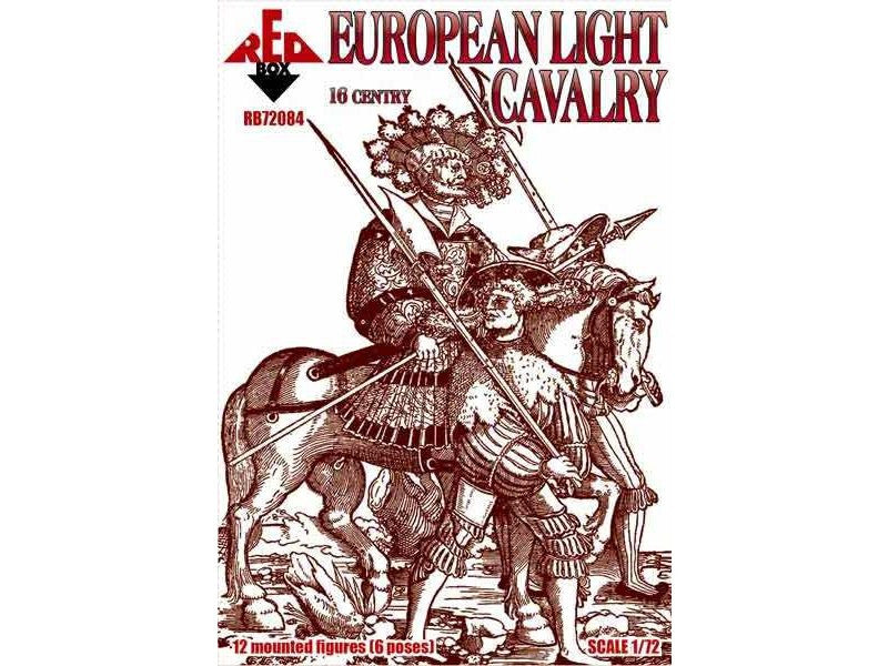 Red Box - European light cavalry set 1 - 1:72