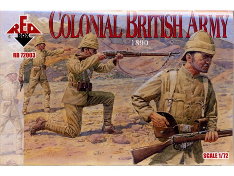 Red Box - Colonial British Army - 1:72