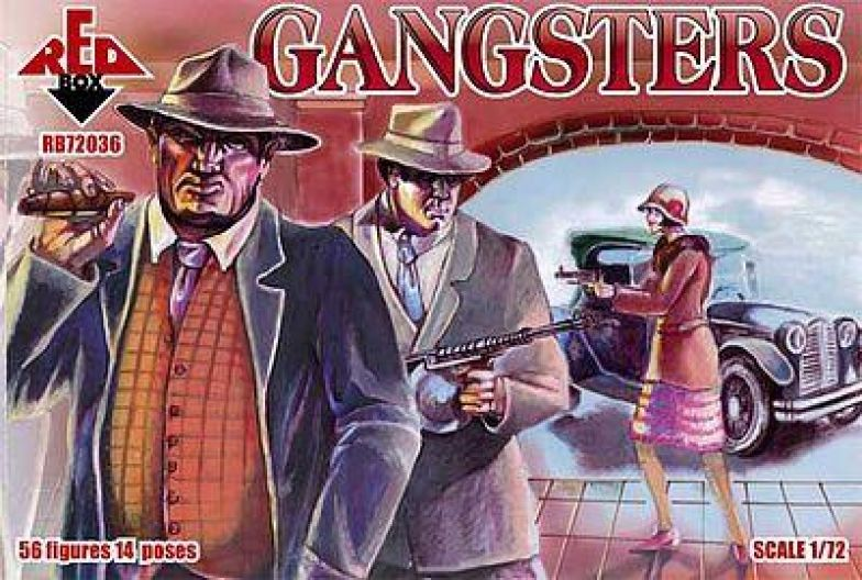 Red Box RB72036 - Gangster - 1:72
