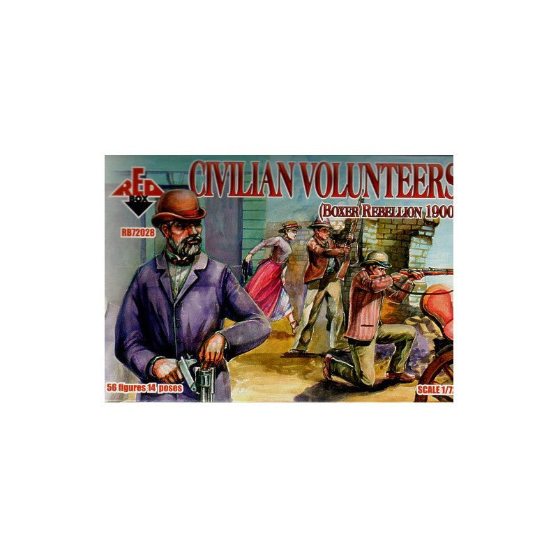 Red Box - Civilian volunteers - 1:72