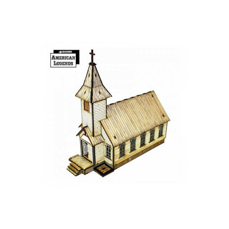 4GROUND - Rev. Johnson's Church - 28mm - 28S-DMH-119