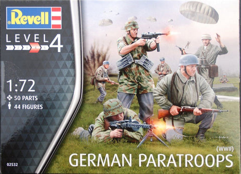 Revell - German Paratroops (WWII)