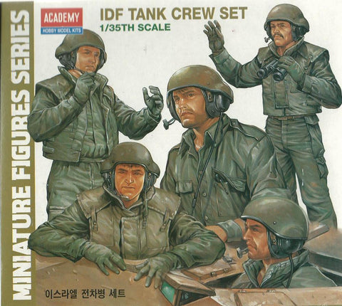 Academy - Hobby model Kits - IDF Tank crew set - 1:35 - 1380