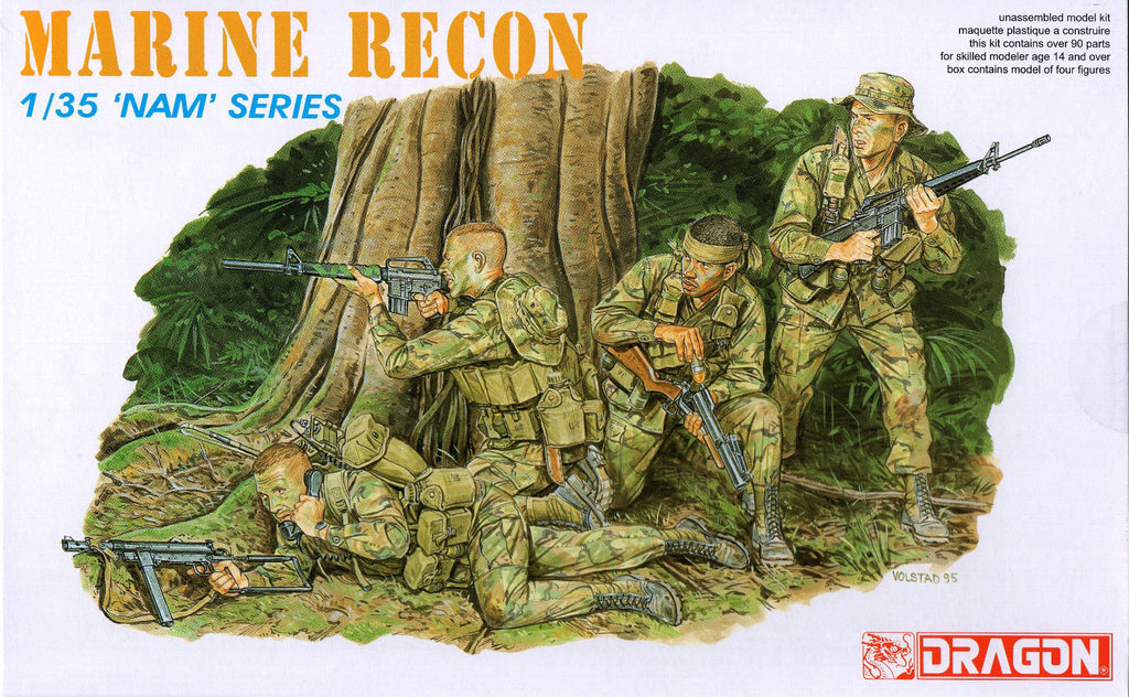 Dragon - Marine Recon - 1:35 - 'Nam' series - 3313
