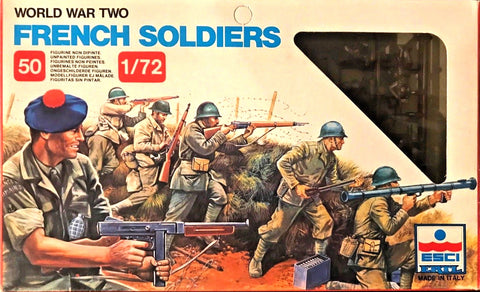 Esci - French soldiers (World war II) - 1:72 - 205