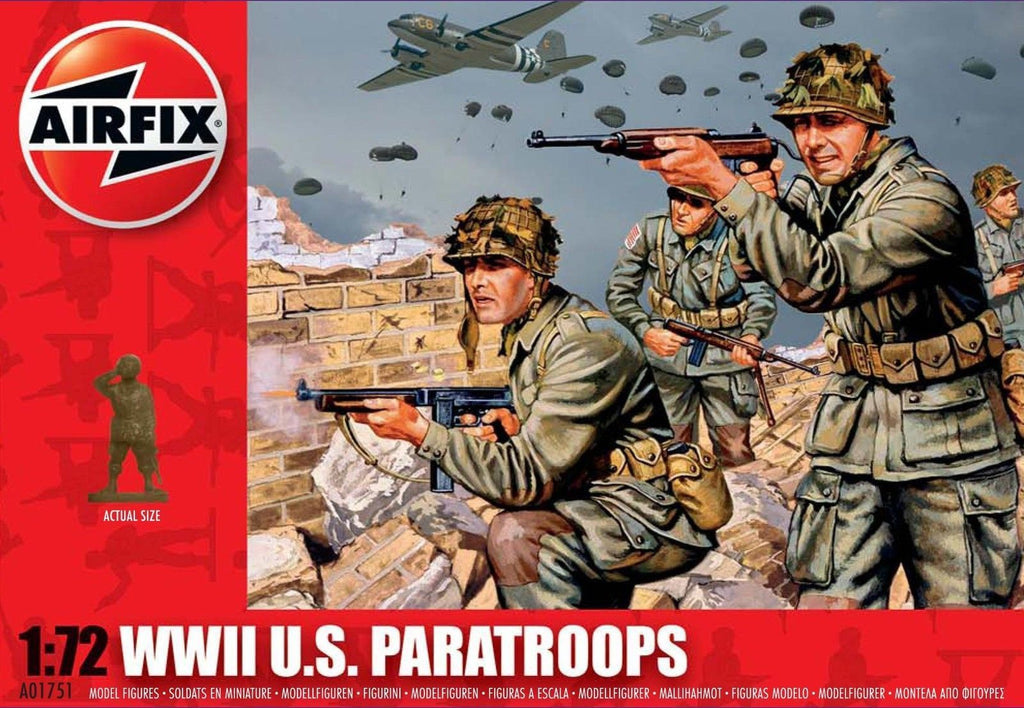 Airfix - WWII U.S. Paratroops - 1:72