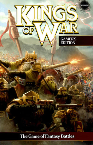 Mantic Games - Kings of War - Softback Gamer's Edition - MGKW05
