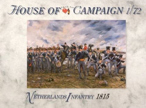 A Call To Arms - Netherlands infantry 1815 - 1:72