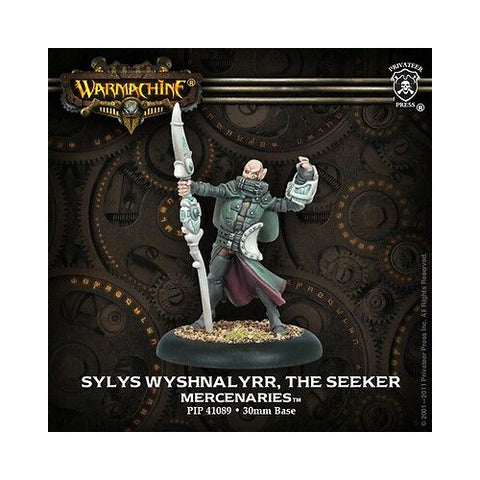 Warmachine - Sylys Wyshnalyrr, The seeker seeker character solo - 28mm