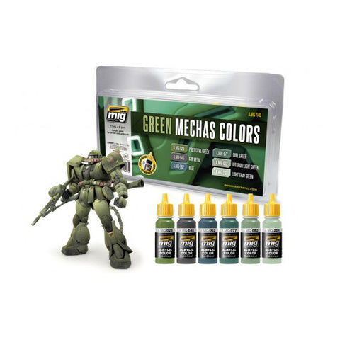 Ammo of Mig - Green mechas colors - A.MIG-7149