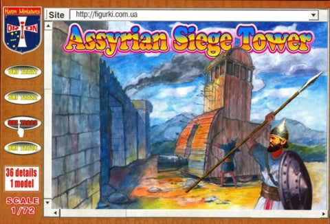 Orion - Assyrian siege tower - 1:72