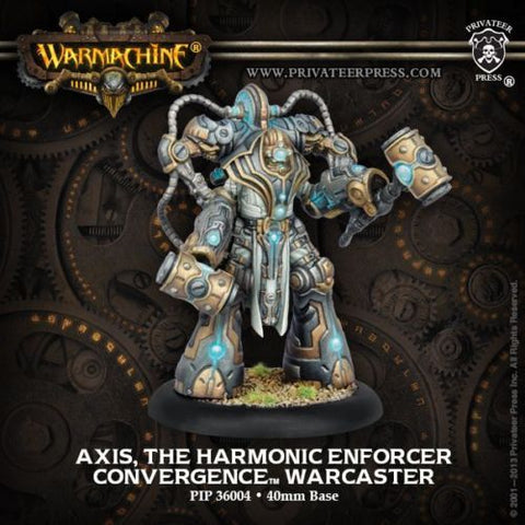 Warmachine - Axis, the harmonic enforcer warcaster - 28mm