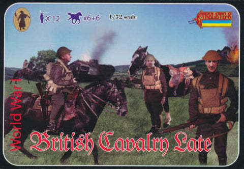 Strelets - British cavalry late - 1:72