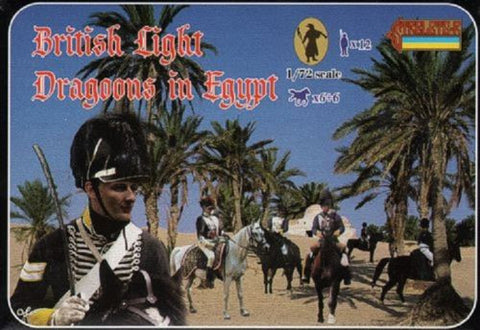 Strelets - British light dragoons in Egypt - 1:72