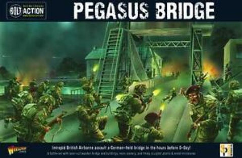 Warlord Games WGB-409910040 - Bolt Action - Pegasus Bridge 2nd Edition - 28mm
