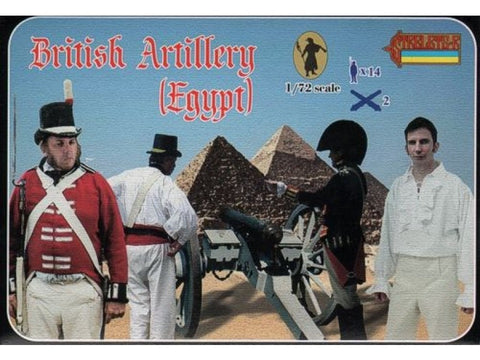 Strelets - British artillery (Egypt) - 1:72
