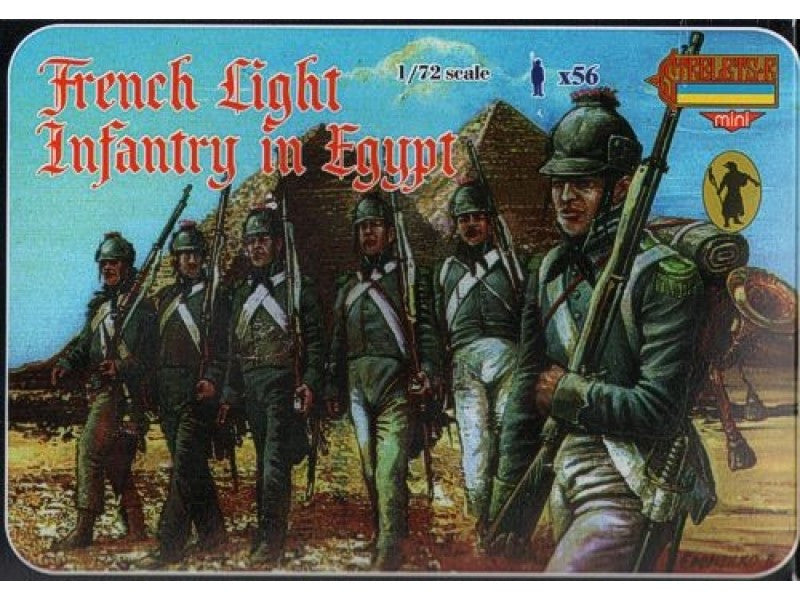 Strelets M069 - French light infantry in Egypt - 1:72