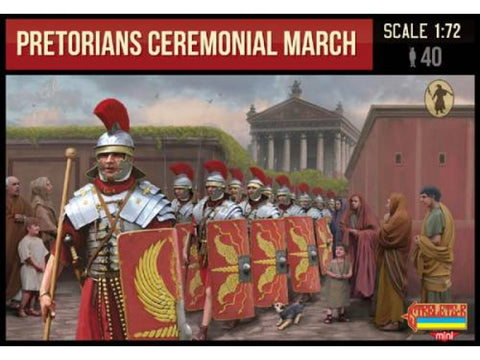 Strelets - Pretorians ceremonial march - 1:72