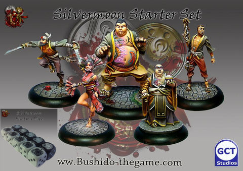 Bushido - Silvermoon trade syndicate starter set + Set dice - GCTBSS001