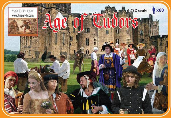 Linear-A LA012 - Age of Tudors - 1:72