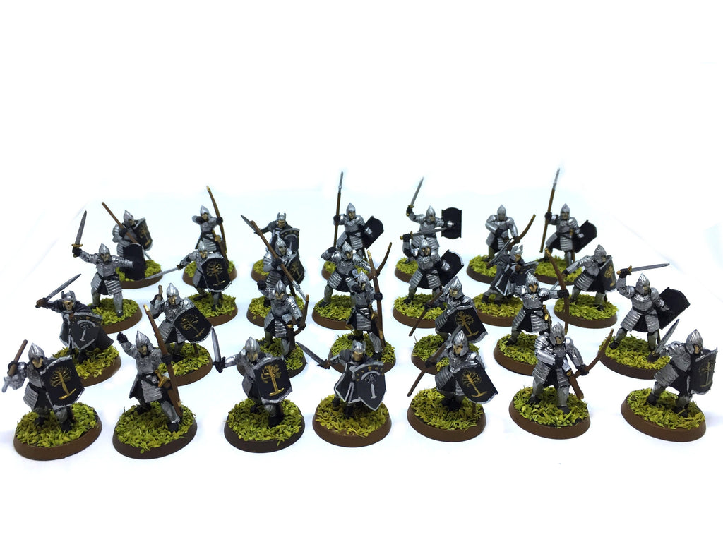 The Lord of the Rings - Warriors of Minas Tirith (Type 2) - 28mm