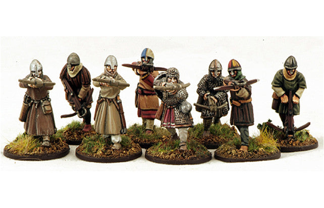 Gripping Beast - SAGA - Norman Crossbowmen (Warriors) - 28mm - SN04