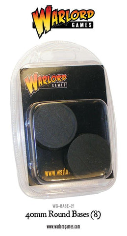 Warlord Games - 40mm Round Bases (8) - WG - BASE - 21