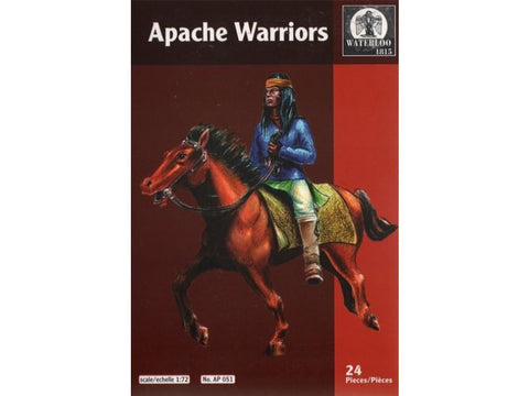 Waterloo 1815 - Apache warriors - 1:72