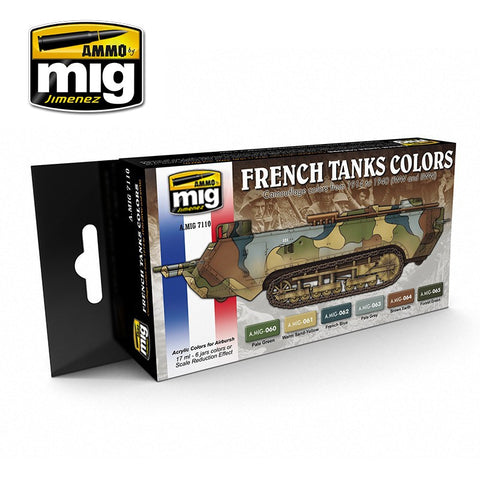 Ammo of Mig - French tanks colors