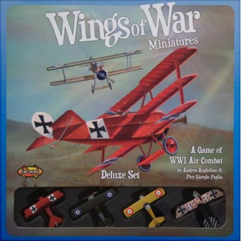NEXUS - WINGS OF WAR MINIATURES DELUXE SET A GAME OF WWI AIR COMBAT
