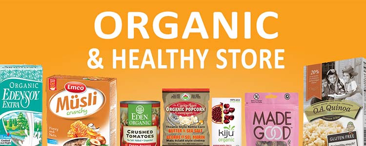 Organic & Healthy Store
