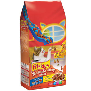Purina Friskies Tender & Crunchy Combo Cat Food (2.86 KG) - Sanadeeg