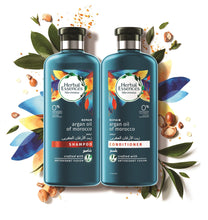 Herbal Essences Moroccan Argan Oil Shampoo ( 400 ml ) + Herbal Essences Moroccan Argan Oil Conditioner ( 400 ml ) - Sanadeeg