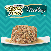 PURINA FANCY FEAST Medleys White Meat Chicken Primavera Wet Cat Food (24 x 85 gm) - Sanadeeg