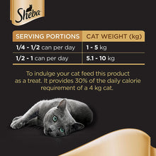SHEBA® Tuna & Salmon in Seafood Wet Cat Food Can (24 x 85 gm)
