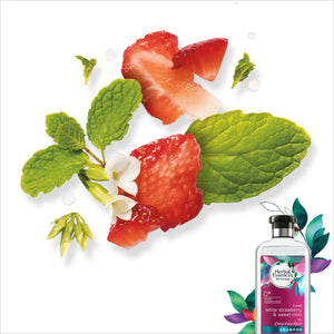 Herbal Essences Strawberry & Sweet Mint Shampoo ( 400 ml ) + Herbal Essences Strawberry & Sweet Mint Conditioner ( 400 ml ) - Sanadeeg