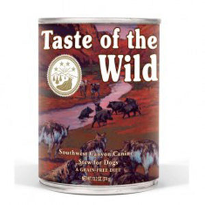 TASTE OF THE WILD  SOUTHWEST CANYON CANIN 375GR 12 pcs