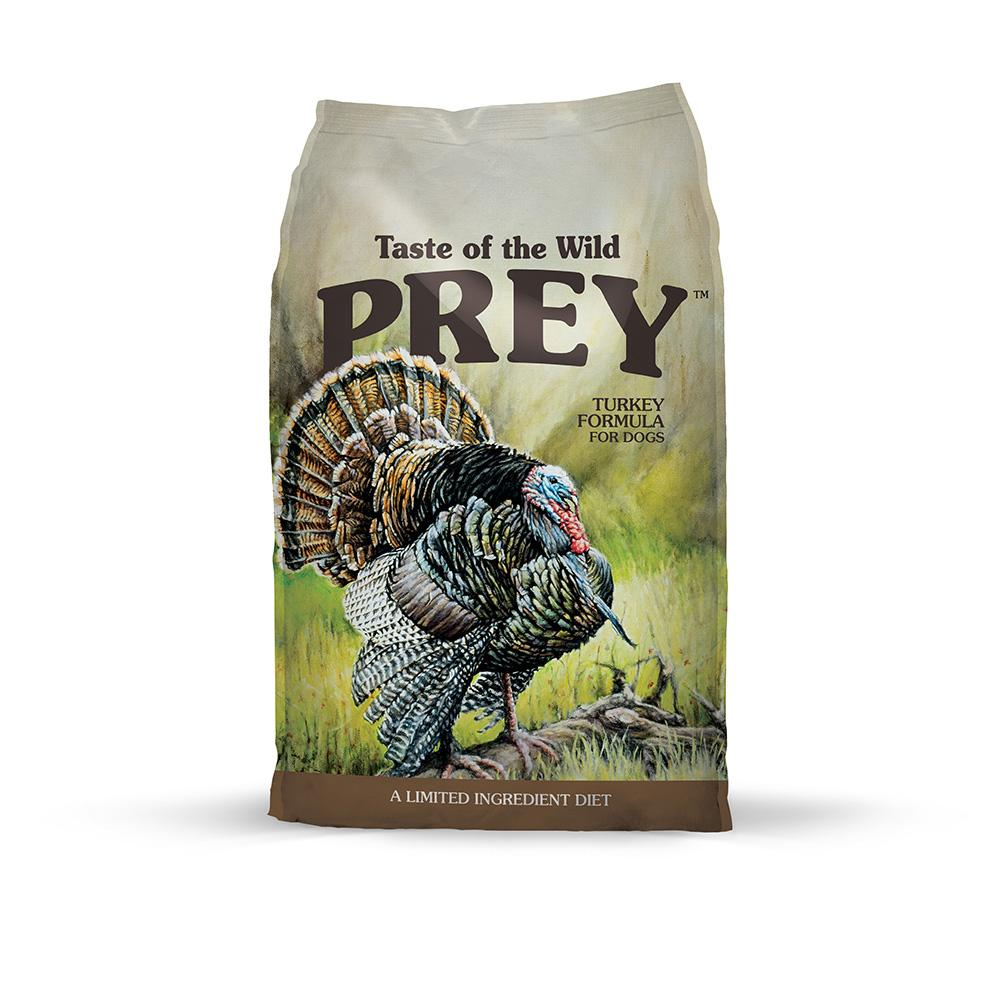 TASTE OF THE WILD  PREY Turkey DOG  11.4 kg