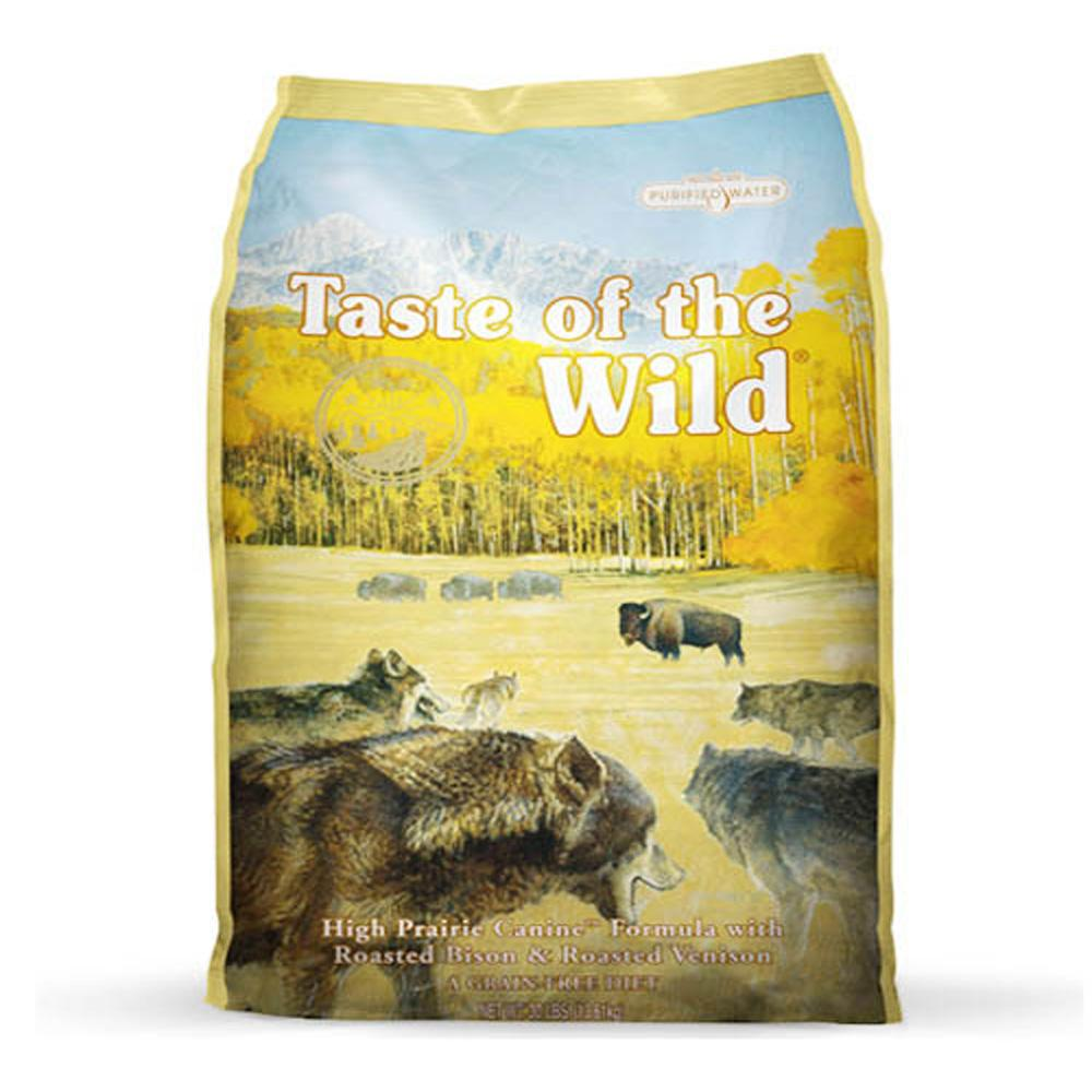 TASTE OF THE WILD  High prairie Canine Formula 12.7 kg